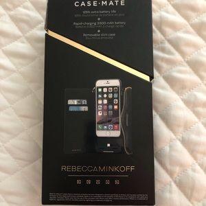 Casemate charging case & wallet